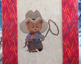 Roping Rodeo Teddy