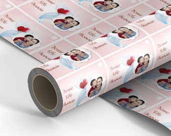 Mother's Day personalized gift paper