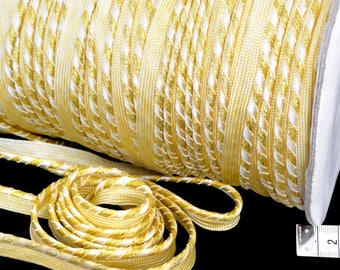 Reel 182 meters 1.3 kg piping color gold striped width 1.2 cm