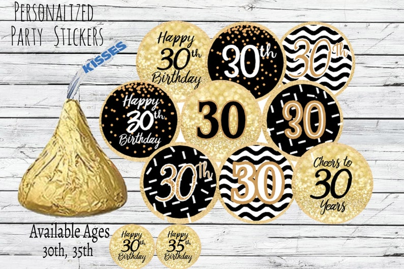 30th Birthday Party Decorations Black And Gold