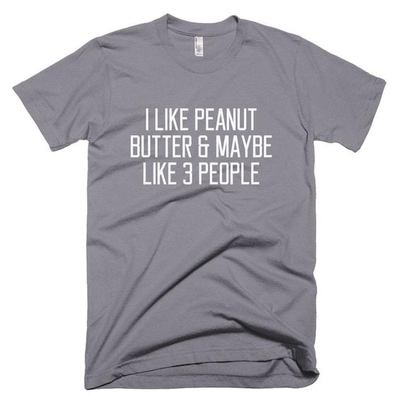 ... Drôle de beurre d arachide sa T-Shirt pour sa d arachide femme ... 49c2b59bb4f