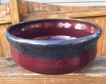 Blue Cherry bowl