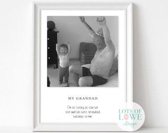 6afd5b74bf8 Fathers day present for Grandad Daddy dad