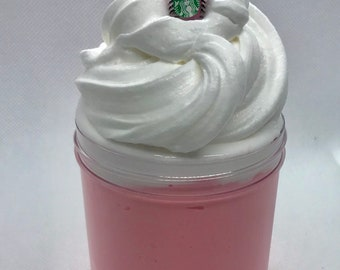 Starbucks slime, Butter slime, Unicorn Frappucino Slime, Starbucks butter slime