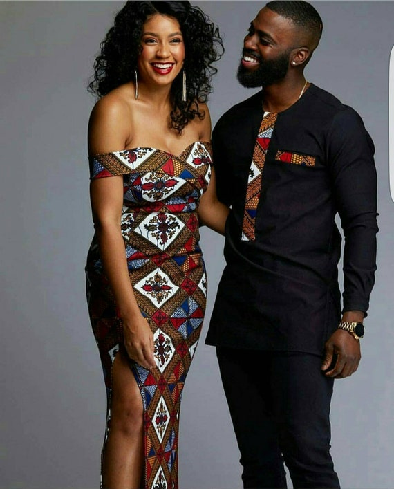 cf159ee0dbc African Matching Outfits for Couples Couple Outfits Matching
