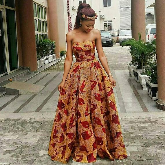 Print Prom Dresses