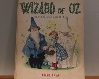 Vintage The Wizard of Oz- Illustrated by Maraja
