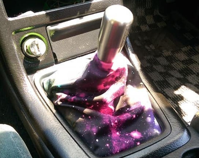 UV Glow Cosmic Nebula Shift Boot | Handbrake Boot