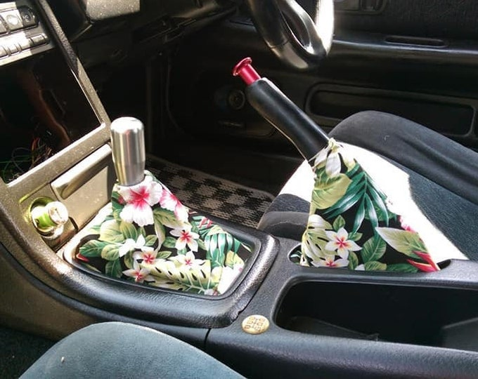 Tropical Floral Shift Boot | Handbrake Boot
