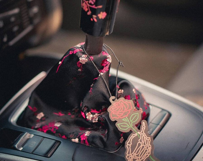 Cherry Blossoms Shift Boot | Handbrake Boot