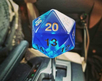 D20 Shift Knob | Dungeons and Dragons Gear Knob
