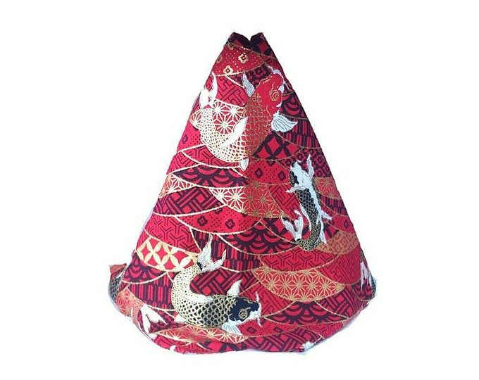 Red Koi Fish Kimono Shift Boot | Handbrake Boot