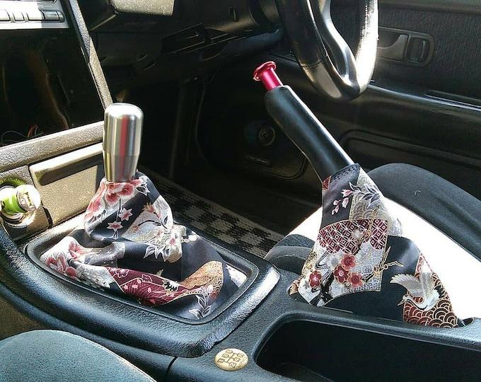 Japanese Kimono Style Shift Boot | Handbrake Boot