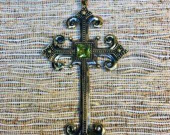 Renaissance Cross Pendant- Inspired Planet