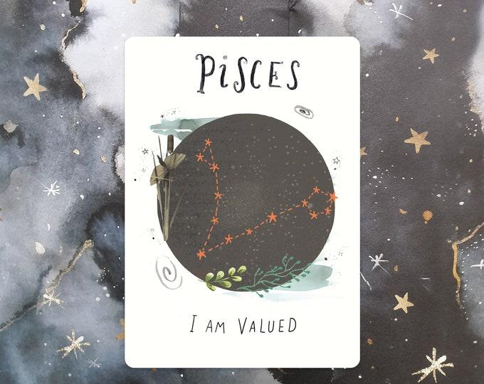 Pisces Affirmation Mini Print