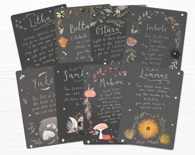 Sabbat Blessings Full Set & Mystery Print