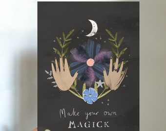 Make Your Own Magick Mini Print