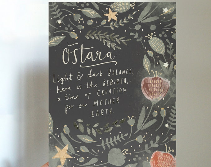 Ostara Spring Equinox Printable