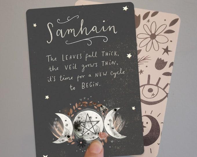 Samhain Blessings Print