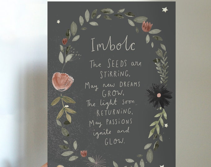 Imbolc Blessings Printable
