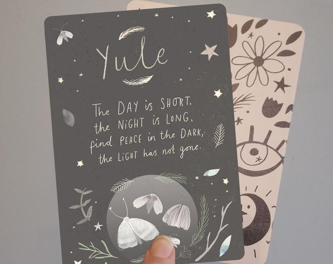 Yule Blessings Print
