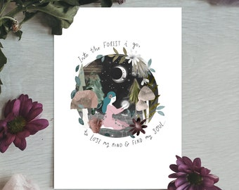 Into The Forest Print