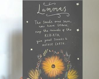 Lammas Blessings Printable