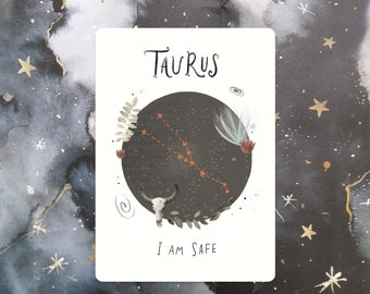 Taurus Affirmation Mini Print