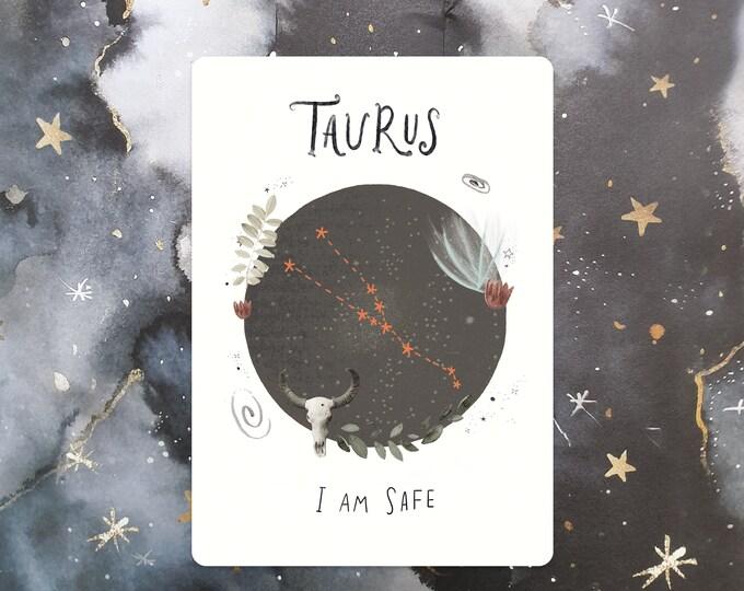 Taurus Affirmation Mini Print