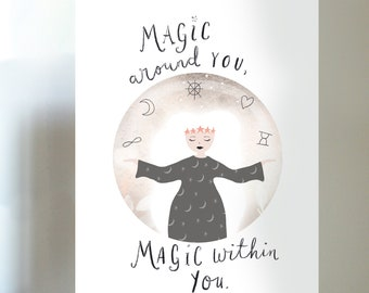 The Magic Within Print