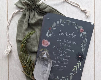 Imbolc Blessings Print