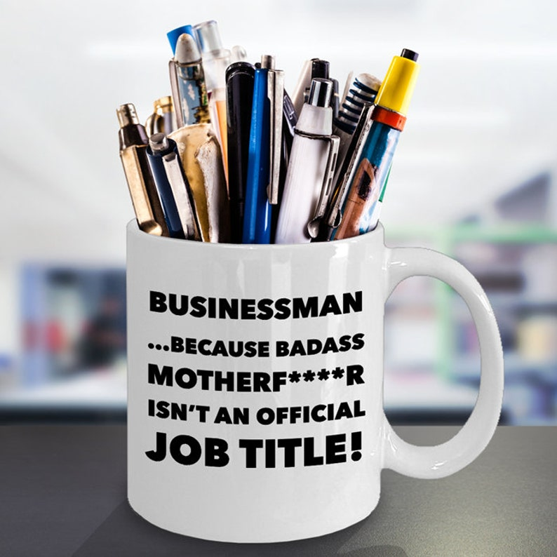 Funny Businessman Coffee Mug Sexy Business Lovers Gifts