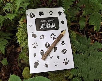 Animal Track Journal | Homeschool Printable | Nature Study