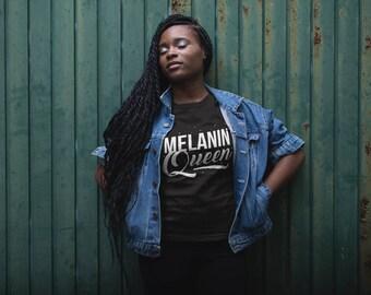 NEW Melanin Queen  - Melanin Magic -  Crewneck Sweatshirt
