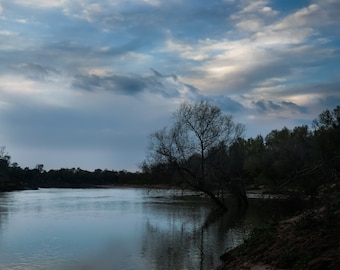 Sunset Photography, River Photography, Signed Photo, Sky Photography, Clouds Photography, Water Photography, Fine Art Photography