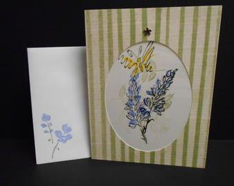 Handmade Blank Inside Card