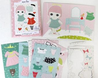 Les Petites Pocket Pal - Paper Doll Set