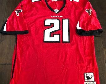 Mitchell And Ness Atlanta Falcons  21 Deon Sanders Football JerseyMen s 60 5fea9e167
