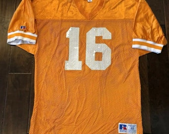 36ad00221a1 Vintage Russell Athletic Peyton Manning Tennessee Volunteers Vols Pro Cut  JerseyMen's 48/XL