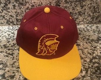 Vintage USC Trojans NCAA Snapback Sports Specialties Cap Hat 830598b78562