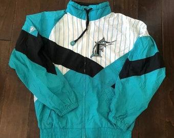 b53e06595 Vintage Apex One Florida Marlins Lightweight Stitched Jacket Men/Adult Small