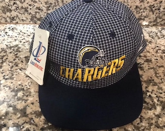 01c50079 Vintage 90s San Diego Chargers NFL Pro Line Strapback Logo Athletic Cap-New  With Tags