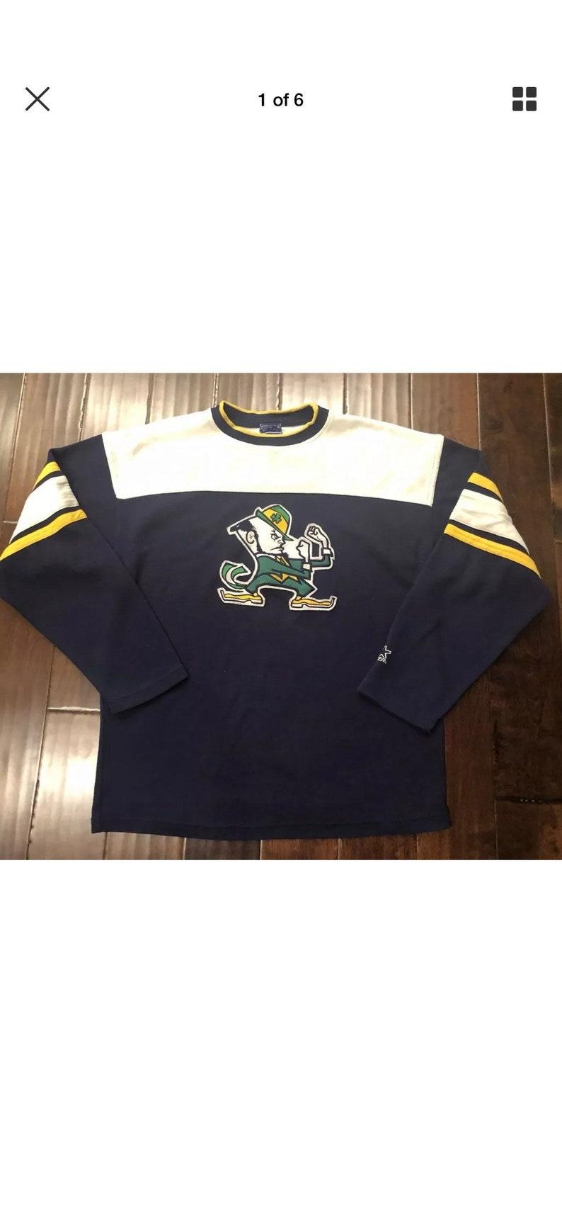 3d28852e2 Vintage Starter Notre Dame Fighting Irish Sweatshirt NCAA