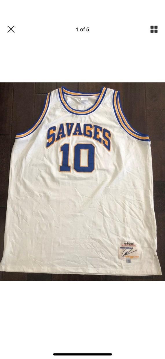 c5e699704 Dennis Rodman SOUTHEASTERN OKLAHOMA STATE Savages Basketball
