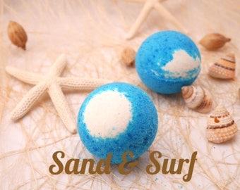 Sand and Surf Bath Bomb