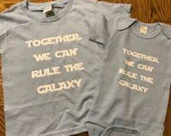 Matching Sibling shirts/onesies