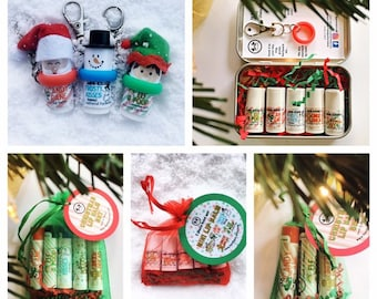 gift sets christmas lip balm christmas chapsticklip balm present vegan easy present stocking stuffer cheap gift setgifts for girls
