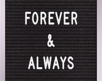 forever & always Print | Wall Art | Printable | 8x10