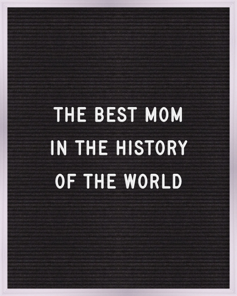 the best mom in the history of the world Print   Wall Art   Printable   8x10
