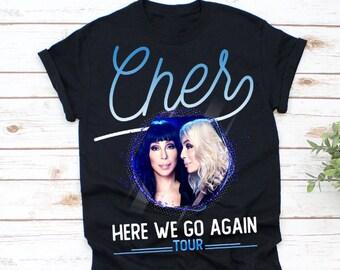 bd578a06 Cher-Pop-Queen 2019 Tour Pop Music Fan, Funny Gift, Pop Music Unisex  T-shirt - Sweater - Long Sleeve - Tank Top - Hoodie -AA29